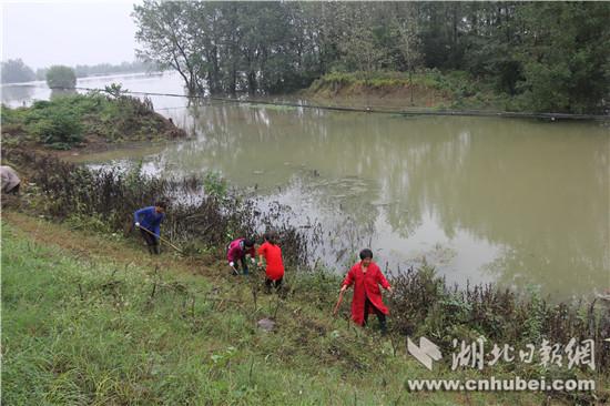 汉江荆门段水位全线超警戒 荆门取消放假奋力战洪水