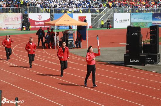 武汉市十运会28日在蔡甸盛大开幕