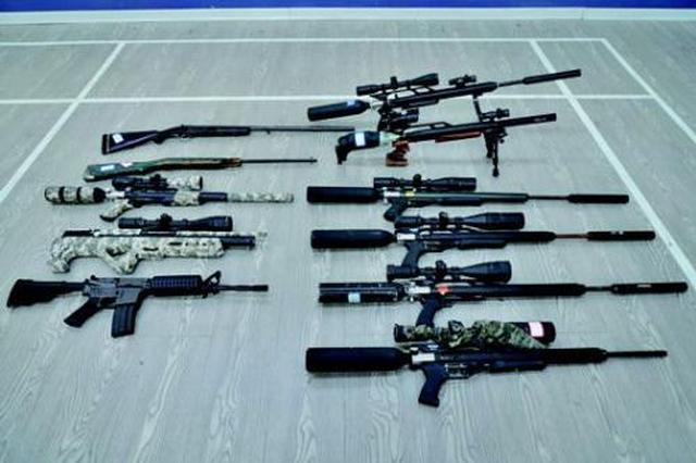 湖北半年收缴枪支3793支 易制爆化学品1274公斤