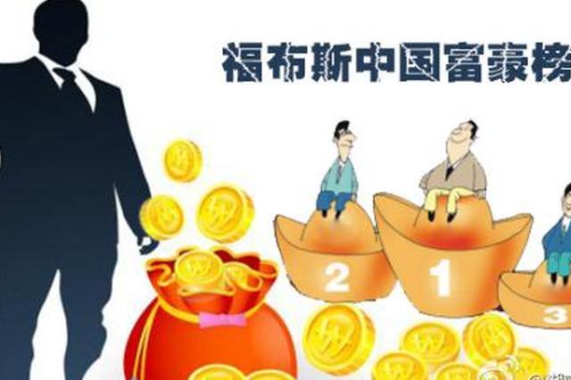 福布斯2017中国富豪榜发布 这些湖北富豪上榜