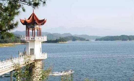 ▲大洪山琵琶湖