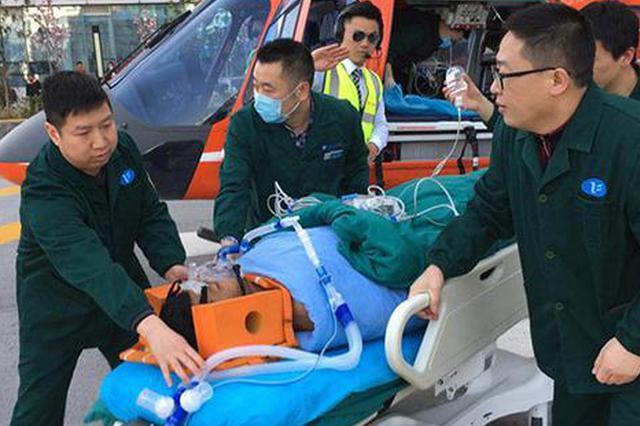 尼泊尔留学生春游溺水 湖北120急救陆空联动救援