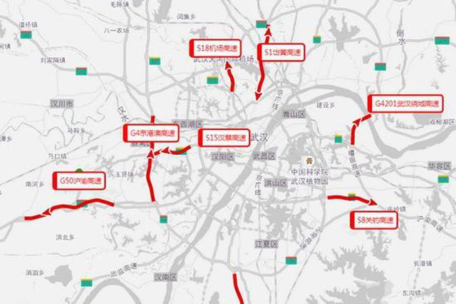 2018年清明假期湖北省高速公路出行指南出炉