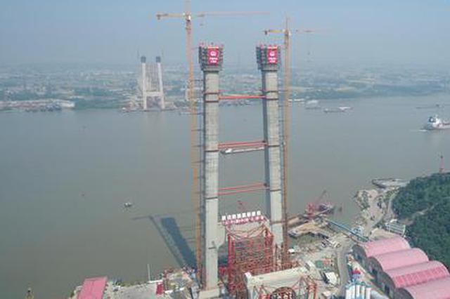 这座悬索桥创世界之最 武汉建桥军团一手打造
