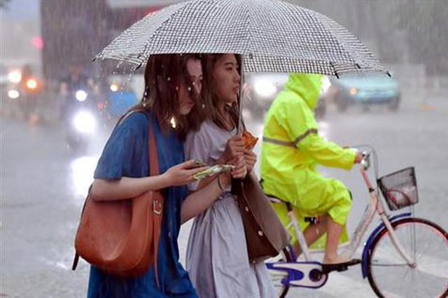 短平快的粗暴!武汉1小时泼下一天暴雨的量(图)