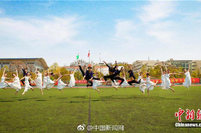 三峡大学学生拍唯美毕业照 很仙很惊艳