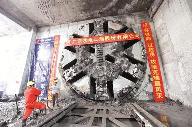 武汉地铁2号线南延线全线洞通 线路全长13.4公里