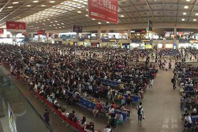 端午假期首日武汉三大站发送客流37万人次刷新纪录