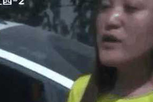 女司机连撞9辆车 下车借火淡定抽烟称:我故意的