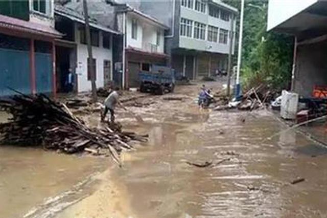 暴雨致湖北多地受灾 造成经济损失一千多万元