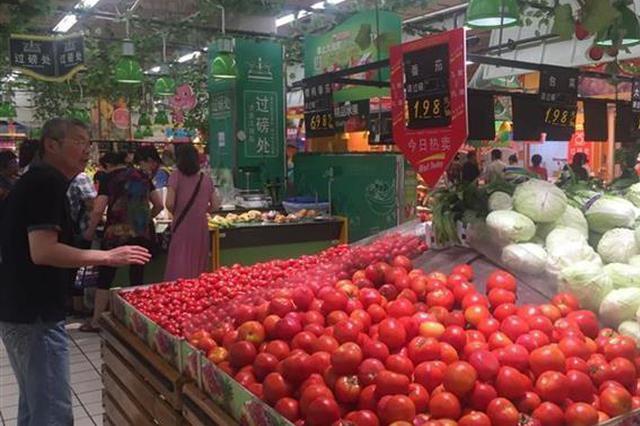 武汉近期整体菜价下行 多款蔬菜可供市民选择