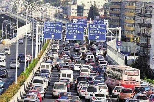 武汉交管部发布交通警情 预计本周五晚行车最堵