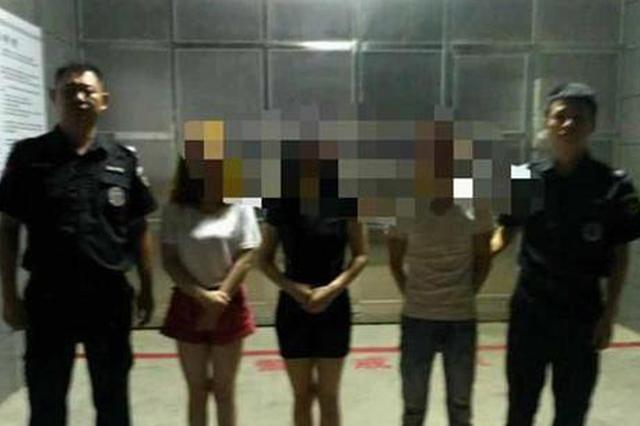 湖北摧毁一卖淫团伙 当场抓获16名涉案人员