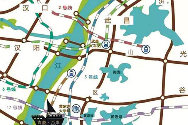 武汉南大门将添核心商旅街区 建设长江湿地景观带