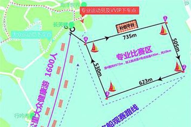 对接渡江节!本周日第二届武汉水上马拉松东湖竞演