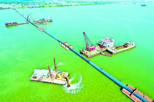 为保护生态环境 襄阳3公里排污管道汉江底横穿