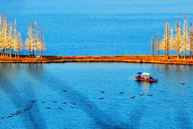 """东湖绿道""""美颜""""工程开工 年底可一船游10个子湖"""
