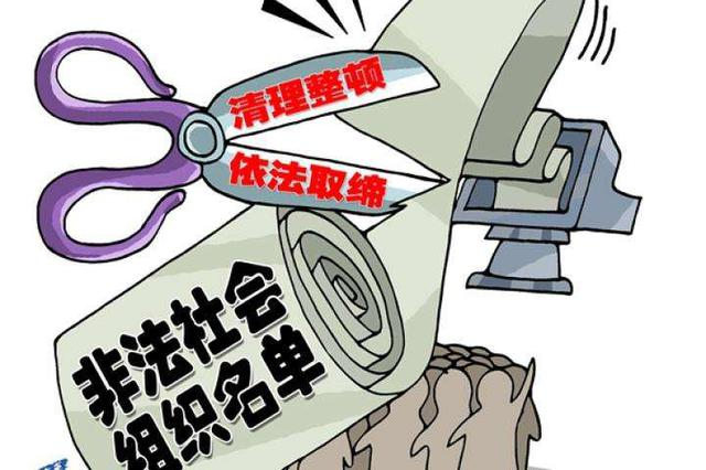 武汉公布首批涉嫌非法组织名单 4种方式可查询