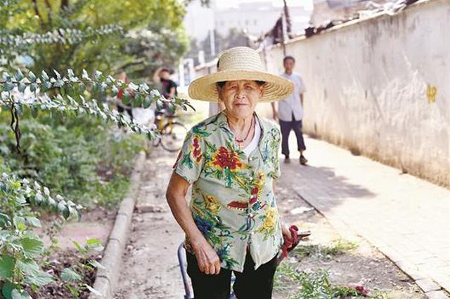 居民将生活垃圾堆路边 七旬婆婆半年清空200米垃圾带
