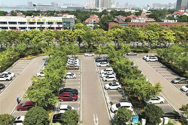 武汉开发区市民服务中心腾出车位便民 不再停车难