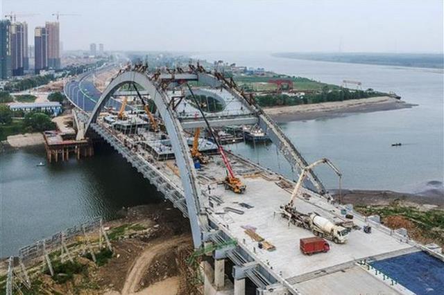 武汉江北快速路即将完工 预计在10月可通车