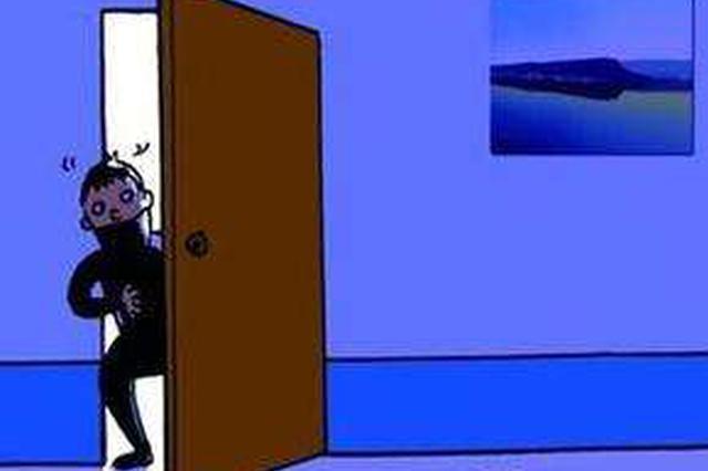 男子入户盗窃巧遇女房主上厕所 闪身钻入床底