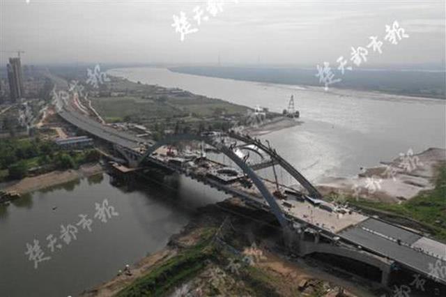 武汉又一大桥本月完工 驾车20分钟可来往这两地