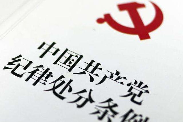 黄石市人防办原主任付晓林被开除党籍、取消退休待遇