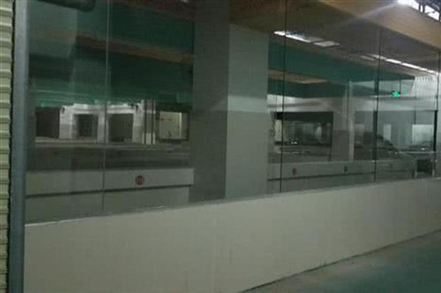 武汉一地下车库修建菜场遭反对 闲置1年多未复原