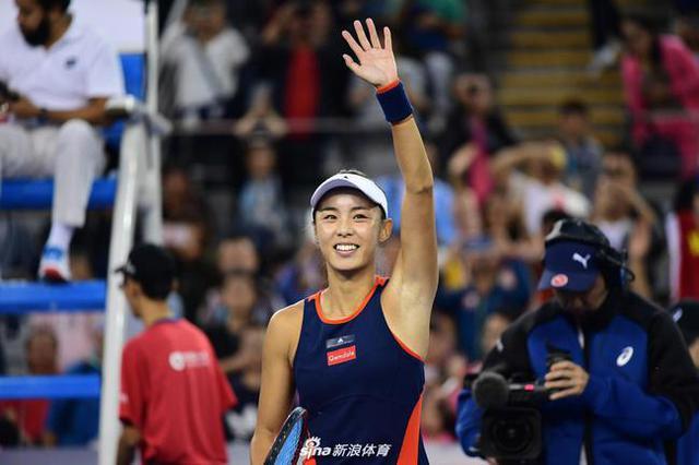 中网-王蔷2:0横扫大满贯冠军得主晋级女单16强