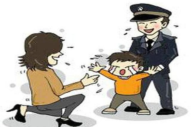幼童受伤和走失事件多发 民警提醒游客注意看护小孩