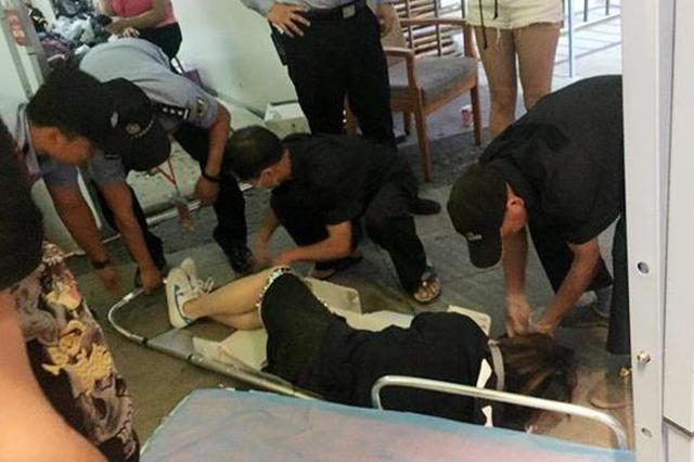 音乐节男子无票翻墙受伤 民警发现送医救治终无大碍