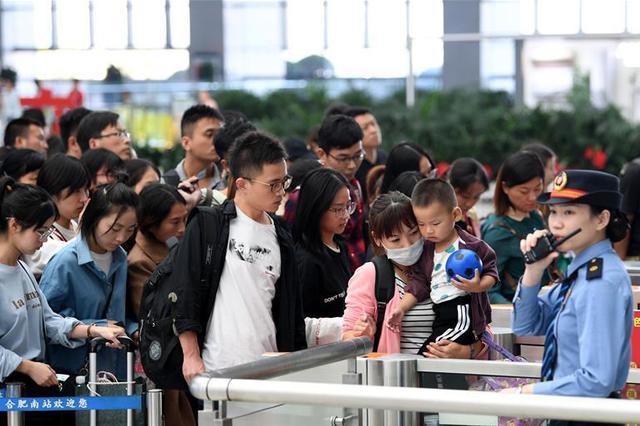 全国铁路迎返程客流最高峰 7日预计送客1520万人次