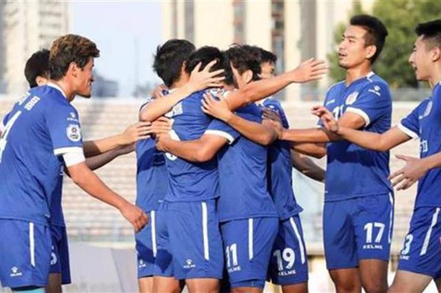 中冠联赛武汉楚风合力3-0天津锐虎 距中乙更近一步