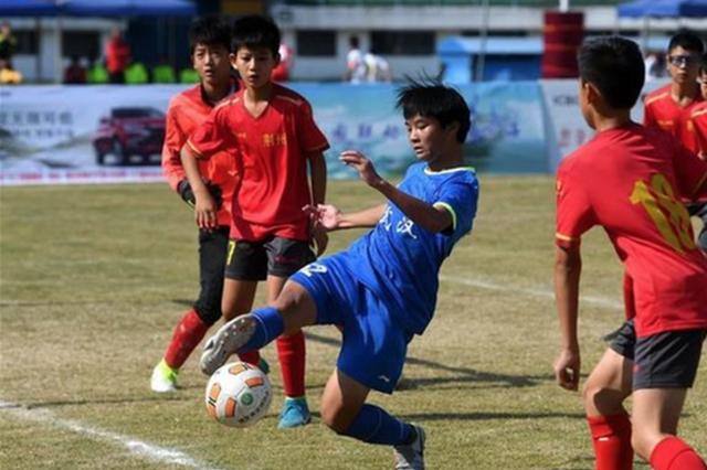 湖北省运动会足球比赛落幕 武汉U13代表队夺冠
