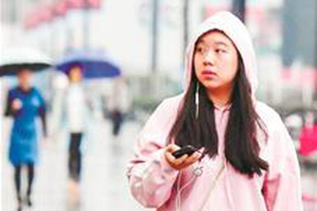 武汉一夜霏霏细雨就像入冬 明天起继续秋意浓