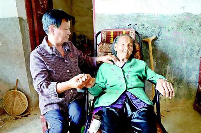 湖北在世最长寿老人今年114岁 饮食清淡从不与人争吵