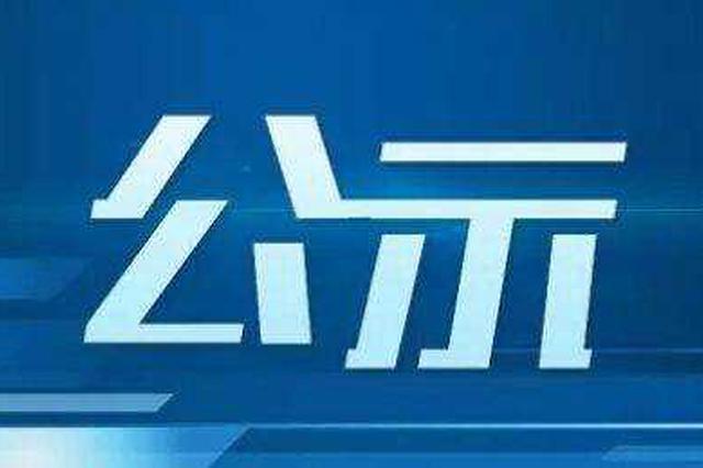 中共恩施州委组织部公示两名拟任职干部