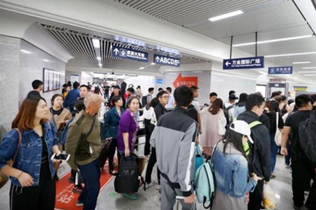 武漢地鐵單日客流刷新紀錄 累計客運量突破40億乘次