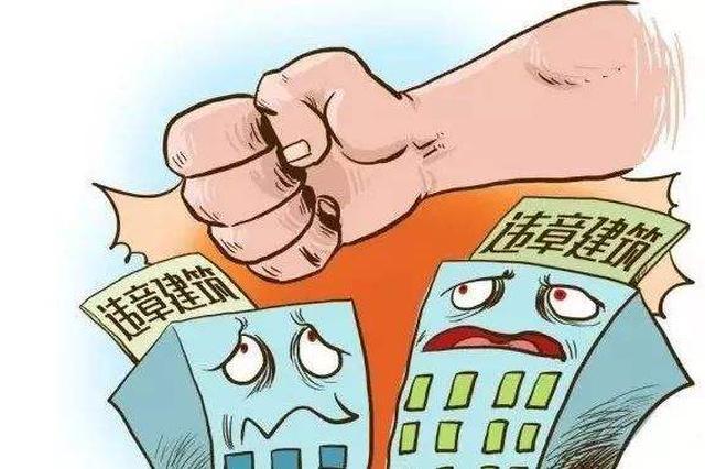 放大招!武汉15个城区一天拆除2.5万平米违建