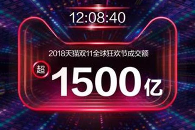 天猫双十一2分05秒破100亿 武汉购买力居全国第7位