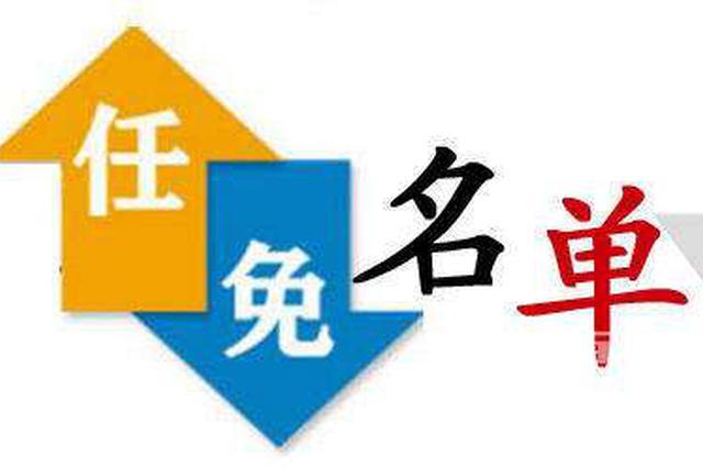 湖北新任命9名省政府组成部门主要负责人