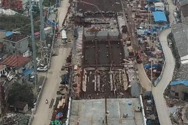 江汉六桥汉阳接线二期工程冲刺 高架段春节前通车