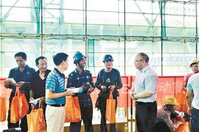 武汉洪山法律援助中心 3年为农民工讨回欠薪2300多万
