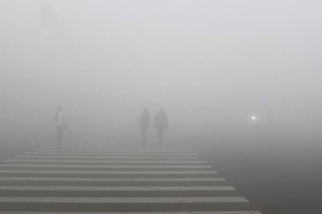 雾霾再次来袭!全国79个城市发布空气重污染预警