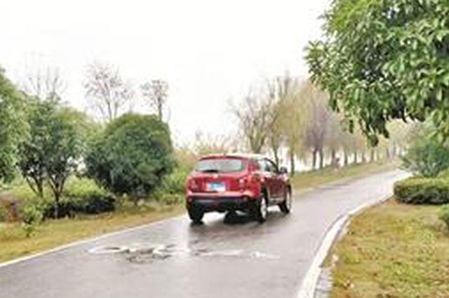 后官湖绿道内频现机动车 管理部门称完全禁入有难度