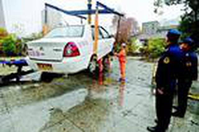 武汉一开办三年多的驾校竟是冒牌货 查扣3辆教练车