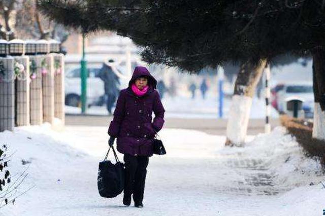 寒潮天气致半个中国降温超12℃ 湖北等地低温破极值