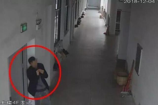 湖北一女学生校内遭男子猥亵 反抗惨遭殴打(图)