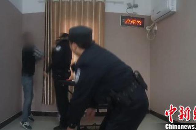 男子坐动车时吸烟致列车减速 调查期间暴力袭警被拘